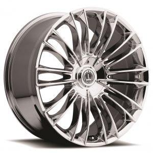 Luxxx Wheels Lux 3 20X8.5 Chrome