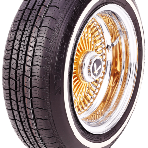Sure-Trac White Wall 155/80R13