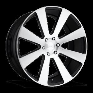 DUB Wheels 8-Ball 26X10 Gloss Black Brushed