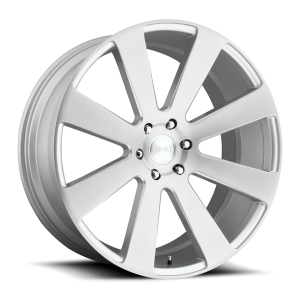 DUB Wheels 8-Ball 22X9.5 Brushed Silver