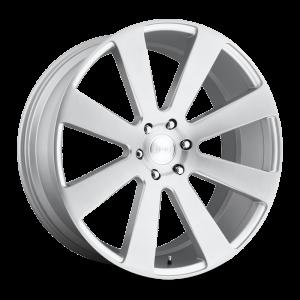 DUB Wheels 8-Ball 26X10 Brushed Silver