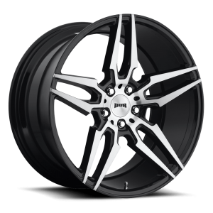 DUB Wheels Attack 5 20X9 Gloss Black Brushed