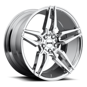 DUB Wheels Attack 5 20X9 Chrome