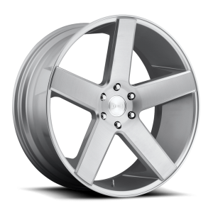 DUB Wheels Baller 26X10 Silver Machined