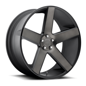 DUB Wheels Baller 26X10 Black Machined Dark Tint