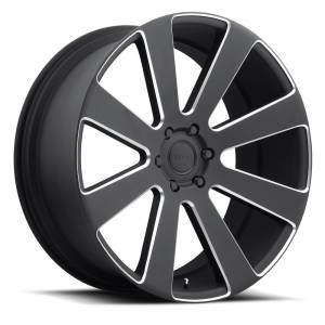 DUB Wheels 8-Ball 26X10 Black Milled