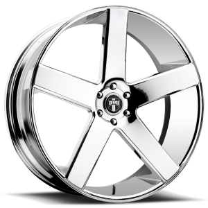 DUB Wheels Baller 22X9.5 Chrome