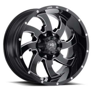 Luxxx Off-Road LHD12 20X10 Gloss Black Milled