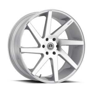 Luxxx Wheels Lux 8 26X10 Silver Machined