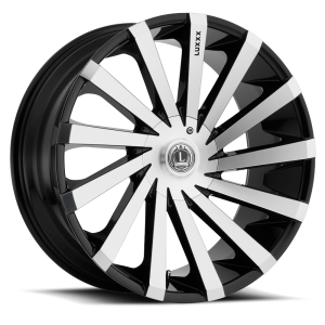 Luxxx Wheels Lux 13 22X9.5 Black Machined