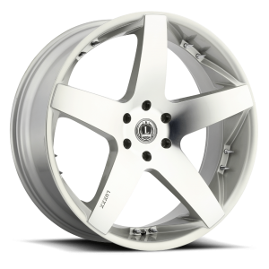 Luxxx Wheels Lux 14 26X10 Silver Machined