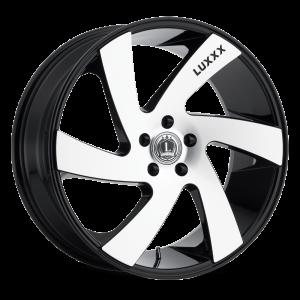Luxxx Wheels Lux 10 26X10 Black Machined