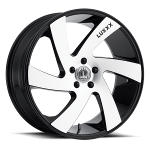 Luxxx Wheels Lux 10 20X8.5 Black Machined