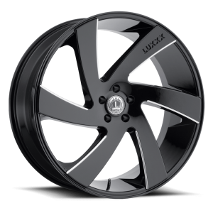 Luxxx Wheels Lux 10 26X10 Black Milled