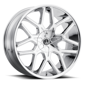 Luxxx Wheels Lux 7 24X9.5 Chrome