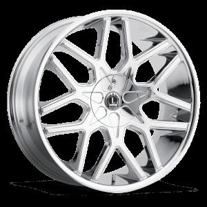 Luxxx Wheels Lux 7 26X10 Chrome
