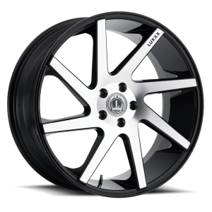 Luxxx Wheels Lux 8 20X8.5 Black Machined