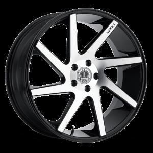 Luxxx Wheels Lux 8 26X10 Black Machined