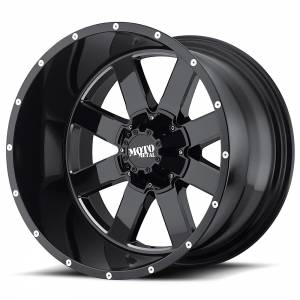 Moto Metal MO962 20X12 Gloss Black w/ Milled Accents