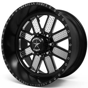 American Force FP Wheels RELIX SF8 Custom Paint