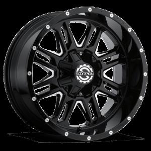 Scorpion SC21 20X12 Black Milled
