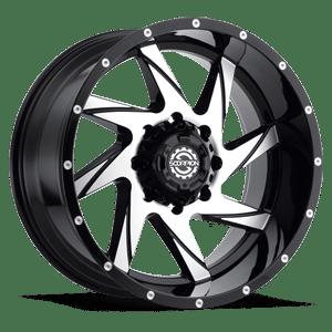 Scorpion SC22 20X9 Black Milled