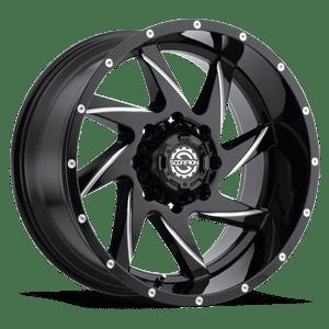 Scorpion SC23 20X9 Black Milled