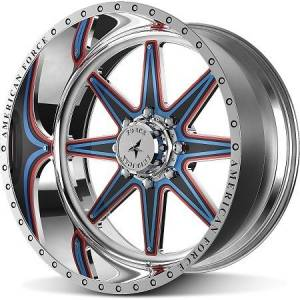 American Force FP Wheels Evade FP8 Custom Paint