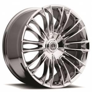 Luxxx Wheels Lux 3 22X10 Chrome
