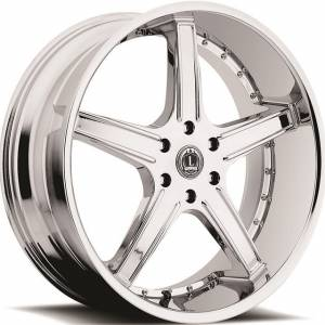 Luxxx Wheels Lux 6 22X10 Chrome