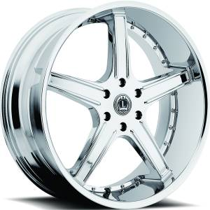 Luxxx Wheels Lux 6 24X10 Chrome