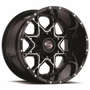 Scorpion SC10 20X12 Black Machined