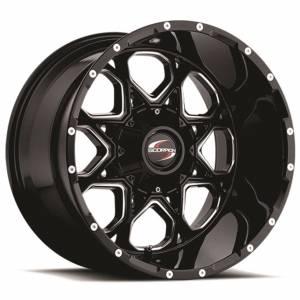 Scorpion SC10 20X10 Black Milled