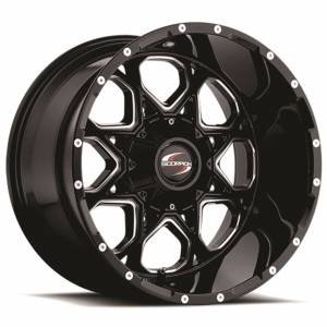 Scorpion SC10 20X12 Black Milled