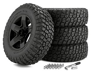 "Build 18"" Off-Road Wheels Package and Save!"