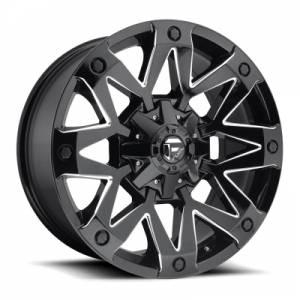Fuel Ambush D555 17X9 Gloss Black Milled