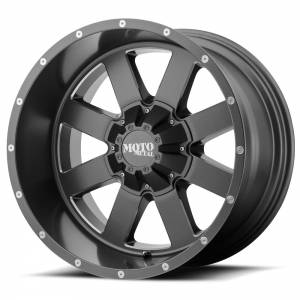 Moto Metal MO962 20X9 Satin Gray w/ Milled Accents